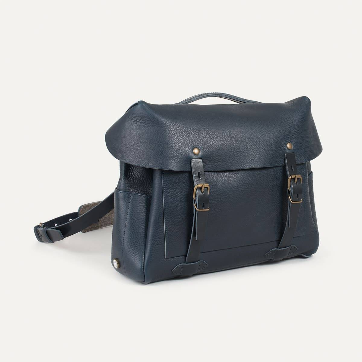 Bleu de Chauffe x Blitz Eclair bag - Navy (image n°2)