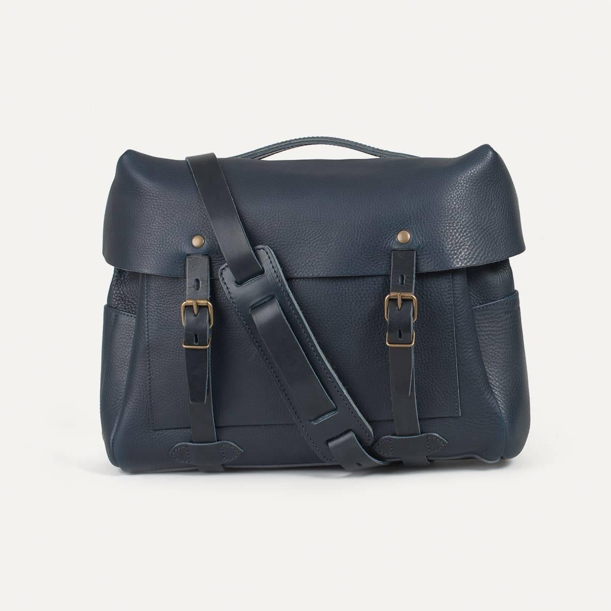 Bleu de Chauffe x Blitz Eclair bag - Navy (image n°1)