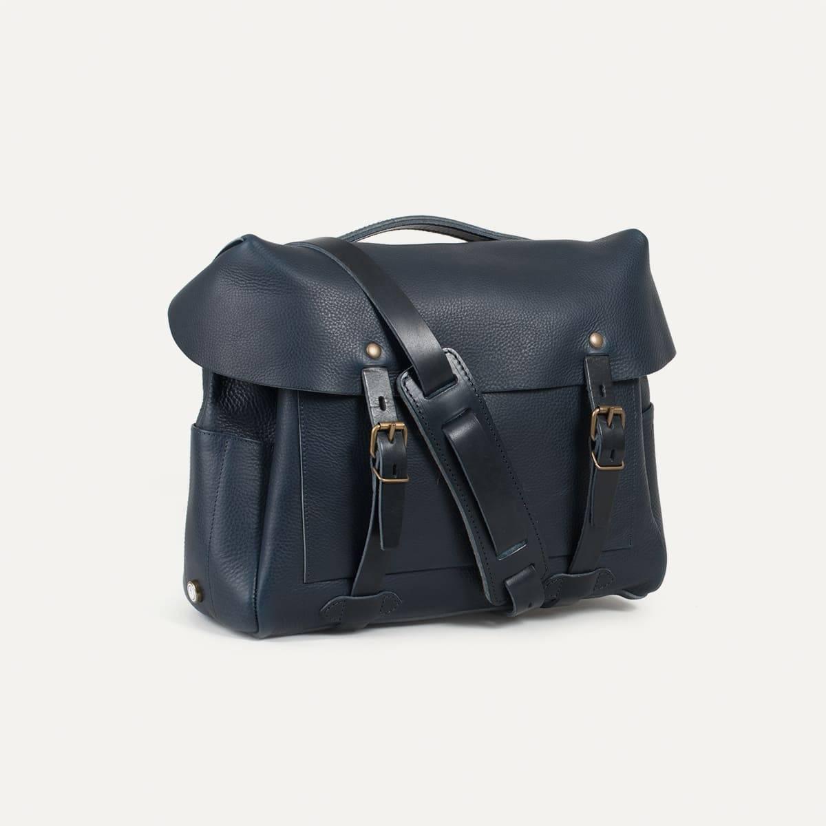 Bleu de Chauffe x Blitz Eclair bag - Navy (image n°3)