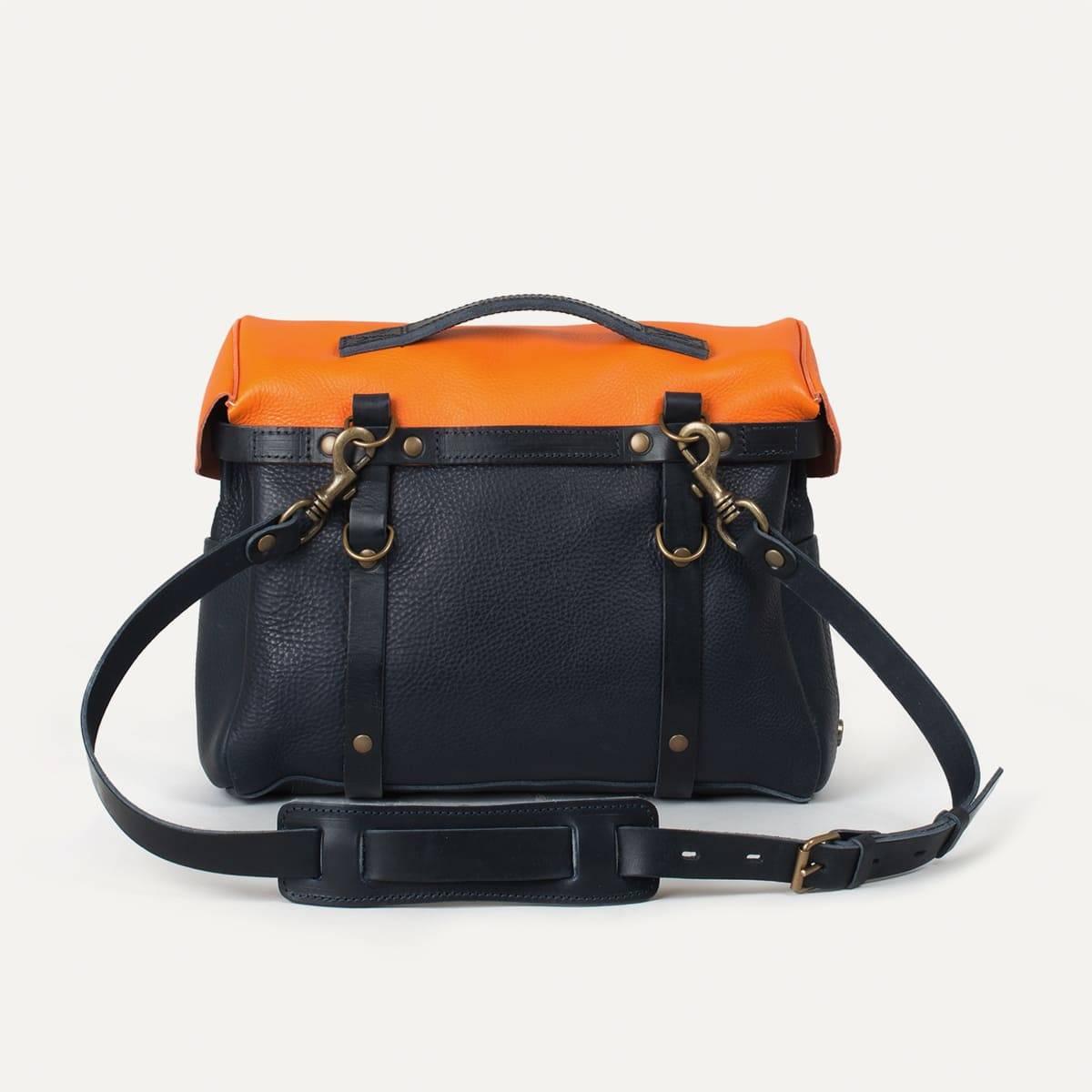 Bleu de Chauffe x Blitz Eclair bag - Navy/Orange (image n°5)