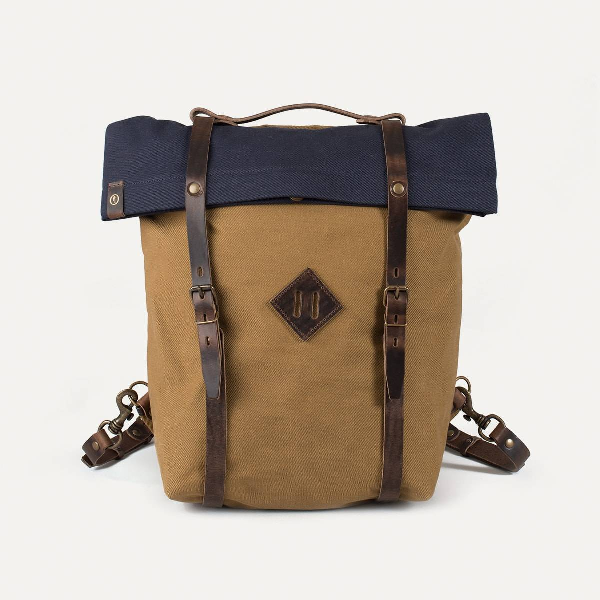 Blitz Motorcycles Scout Backpack - Navy/Camel (image n°1)
