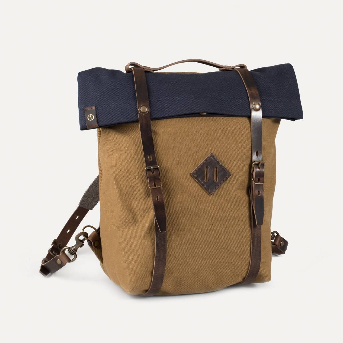 Blitz Motorcycles Scout Backpack - Navy/Camel (image n°2)