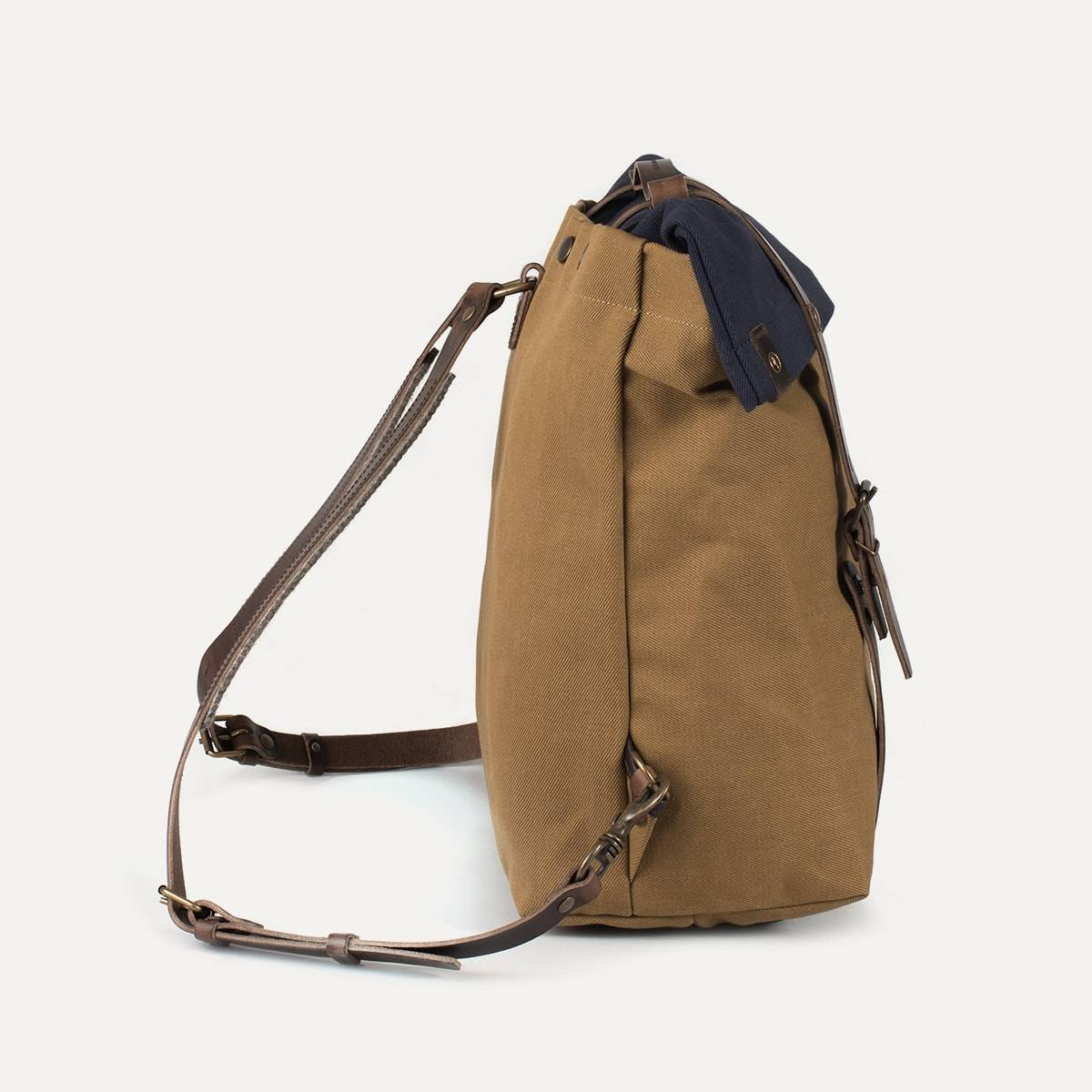 Blitz Motorcycles Scout Backpack - Navy/Camel (image n°3)
