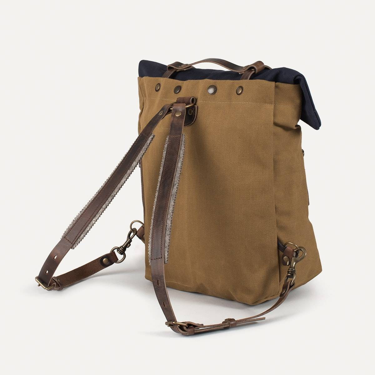 Blitz Motorcycles Scout Backpack - Navy/Camel (image n°4)