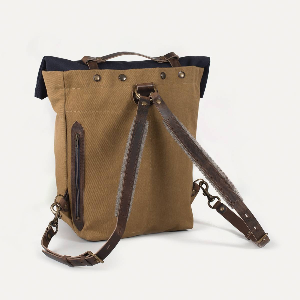 Blitz Motorcycles Scout Backpack - Navy/Camel (image n°5)