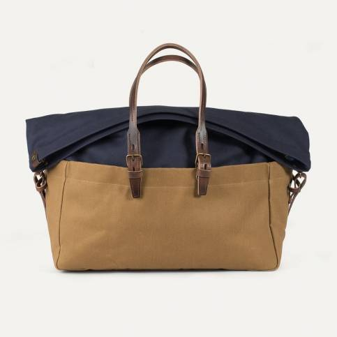 Cabine Travel bag BDC x Blitz - Navy/Camel