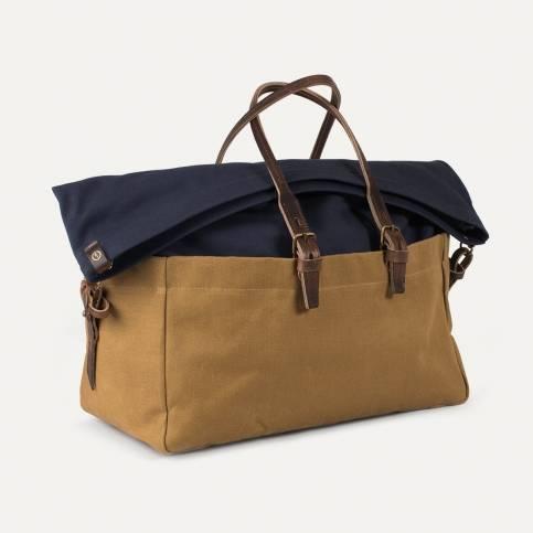 Cabine Travel bag BDC x Blitz - Navy/Camel