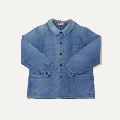 """N°3 : Veste de travail type """" Bleu de chauffe """""""