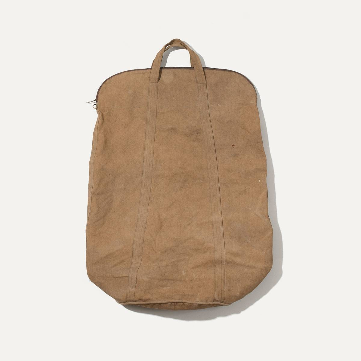 N°4: 'Cashew-colored' linen parachute bag (image n°1)