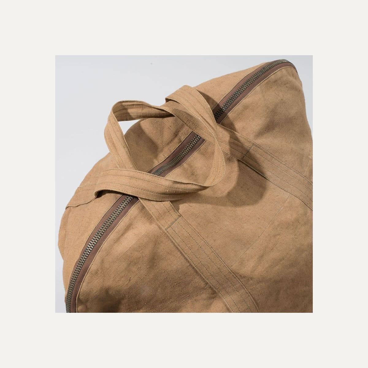 N°4: 'Cashew-colored' linen parachute bag (image n°5)