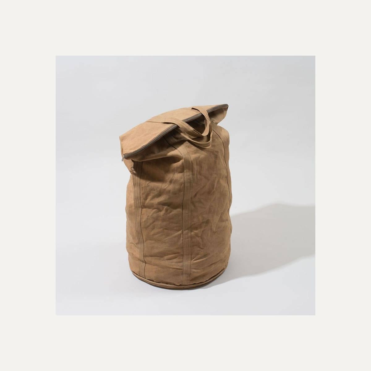 N°4: 'Cashew-colored' linen parachute bag (image n°3)