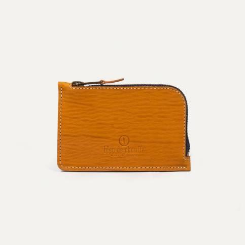 Pognon zipped purse - Gold/Cork
