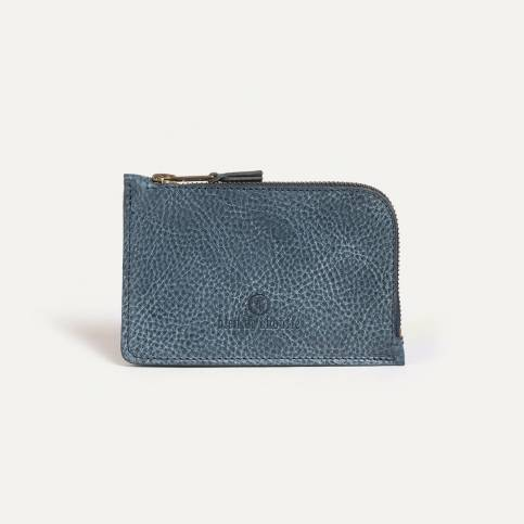 Pognon zipped purse - Indigo