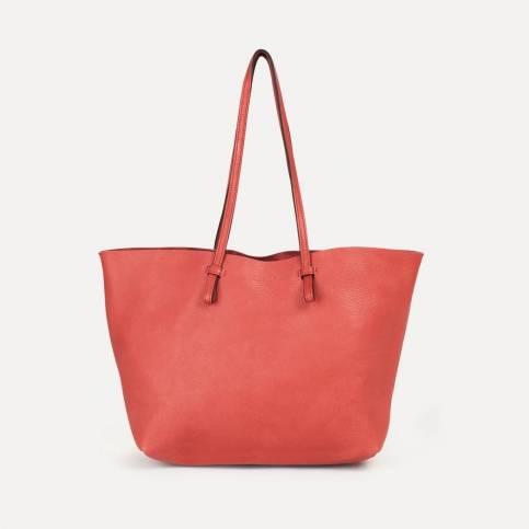 Joy Tote bag M - Opera red