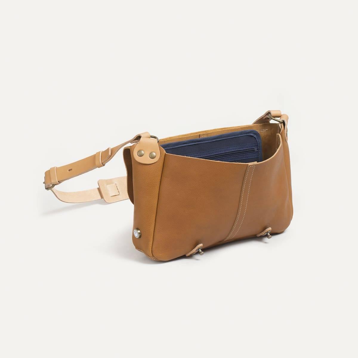 Léo plumber bag - Camel (image n°4)