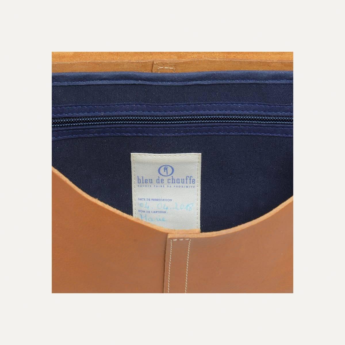 Léo plumber bag - Camel (image n°5)