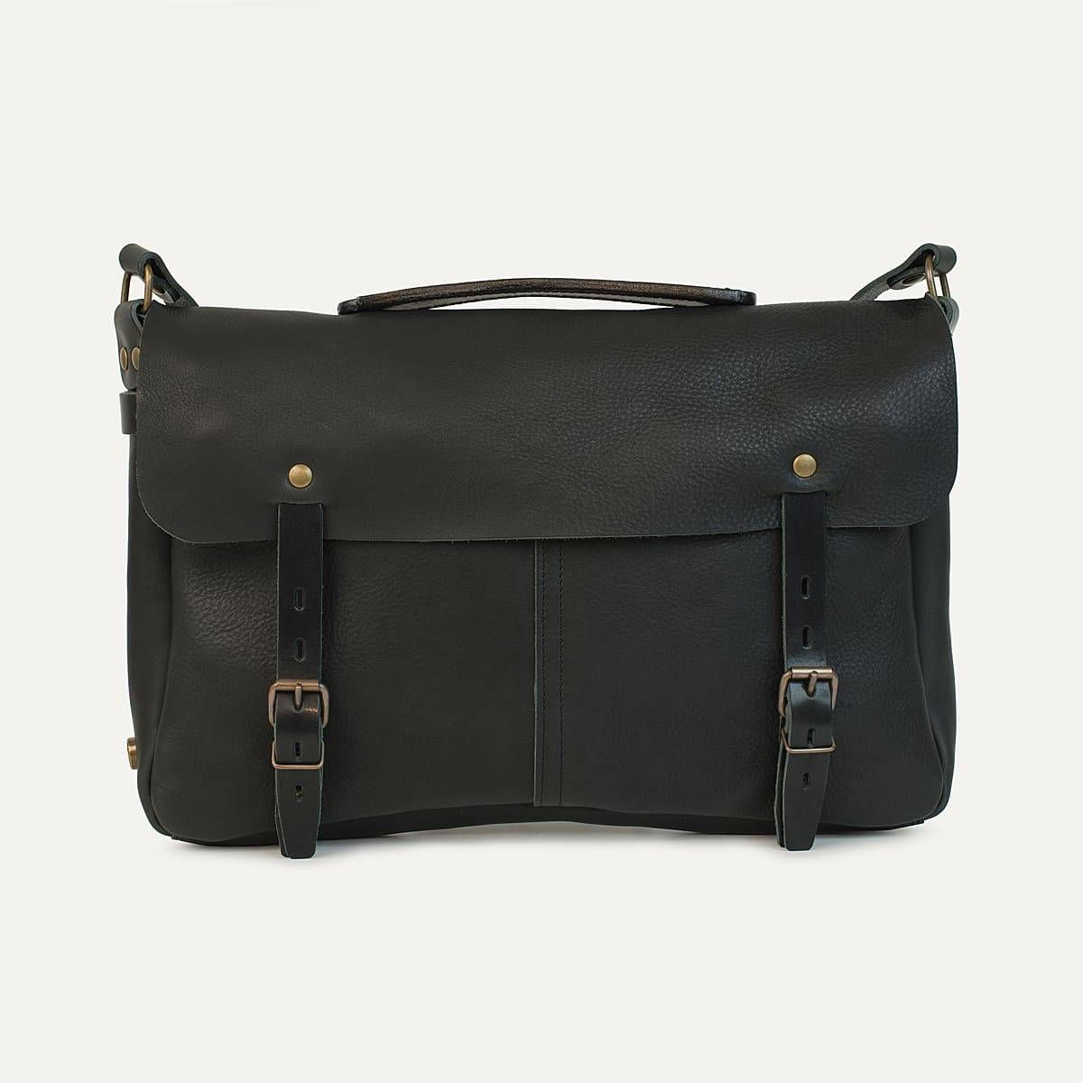 Justin plumber bag - Black (image n°1)