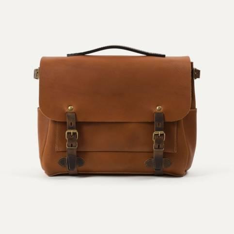 Postman bag Eclair M - Pain brulé