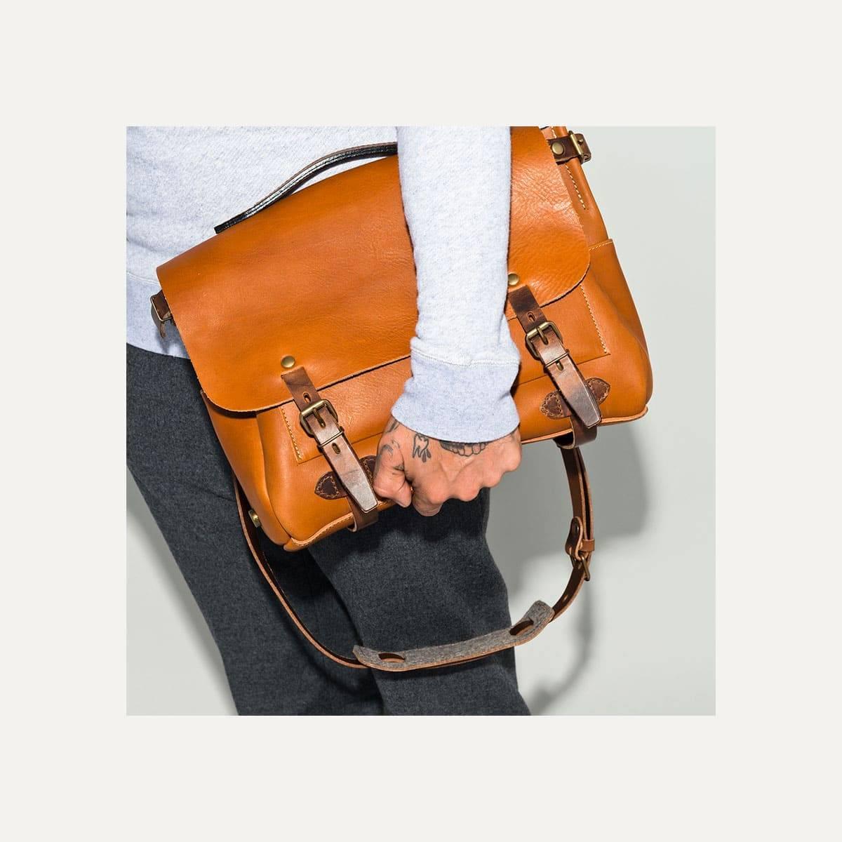 Postman bag Eclair M - Pain brulé  (image n°10)