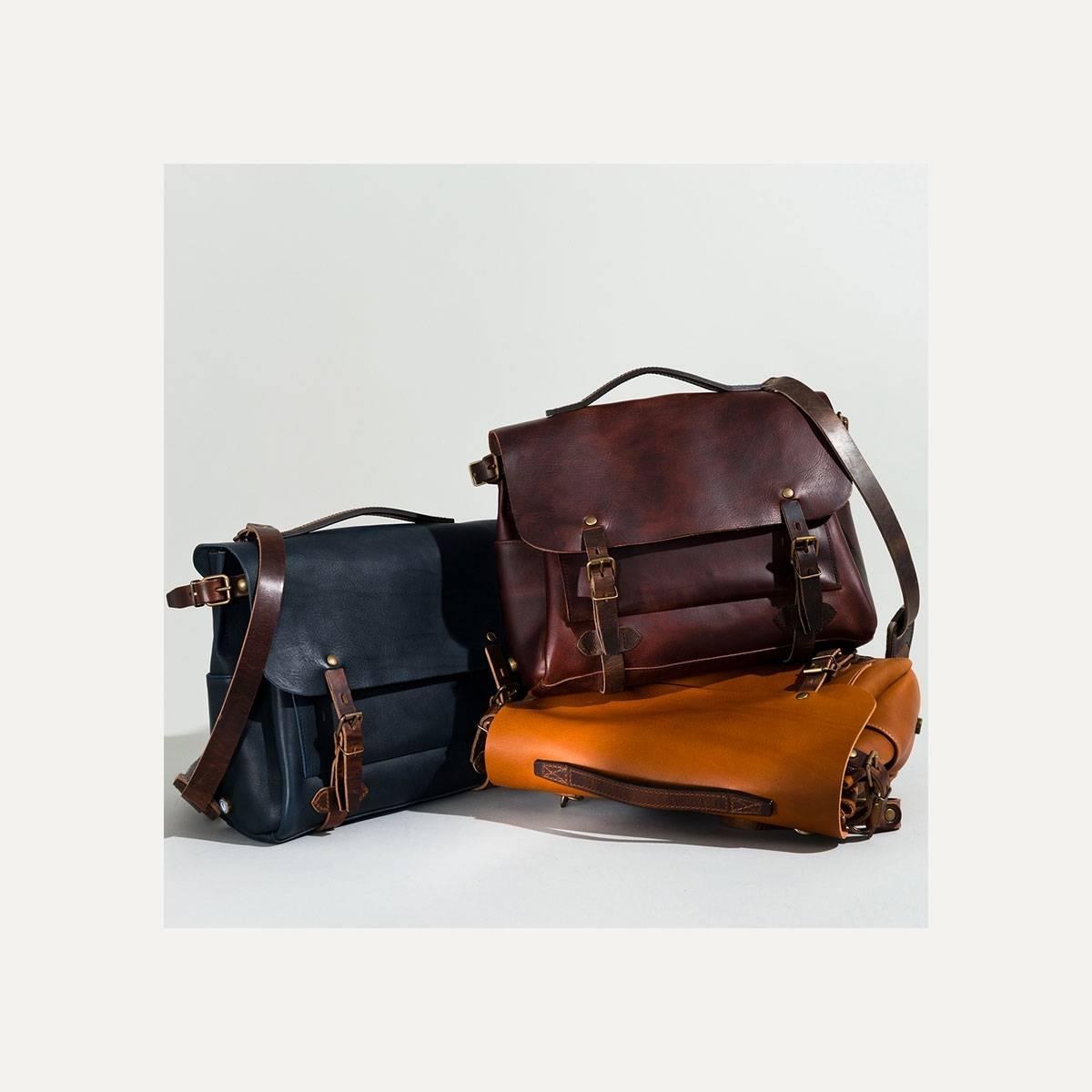 Postman bag Eclair M - Pain brulé  (image n°8)