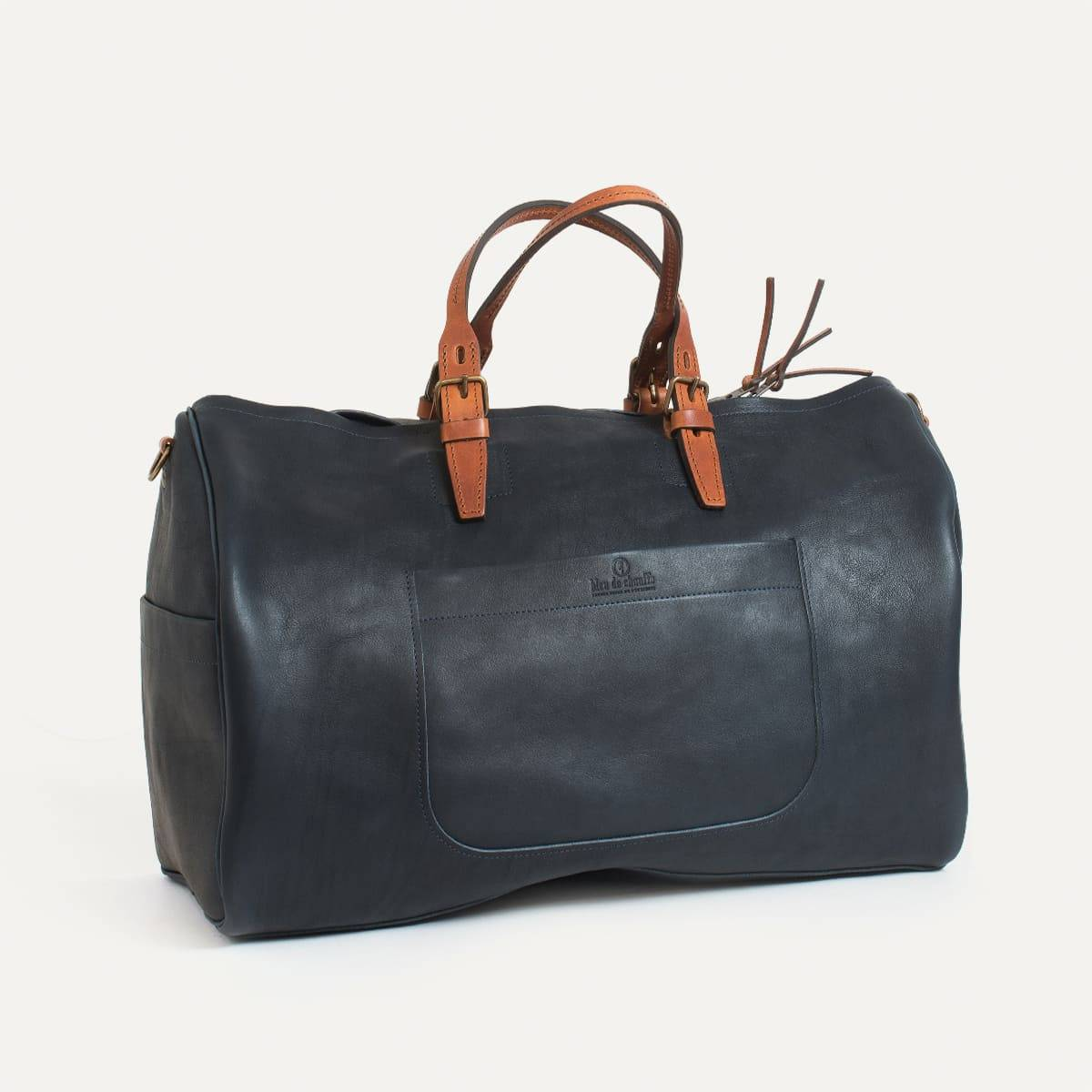 e97c3d1ed1 Sac de voyage en cuir Homme - Made in France | Bleu de chauffe