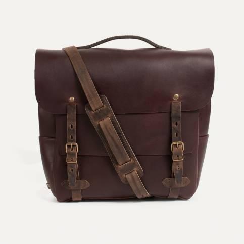 Postman bag Eclair L - Peat