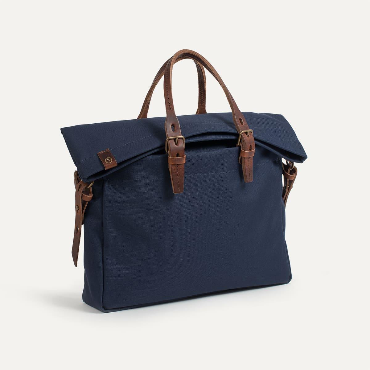 sac business homme remix marine bleu de chauffe. Black Bedroom Furniture Sets. Home Design Ideas