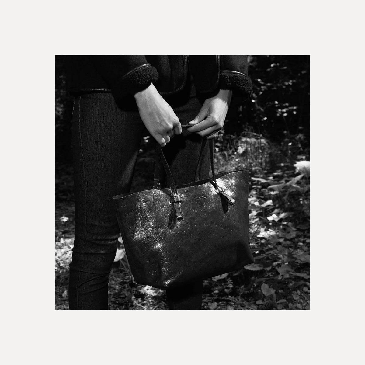 Joy Tote bag S - Fiera Black (image n°4)