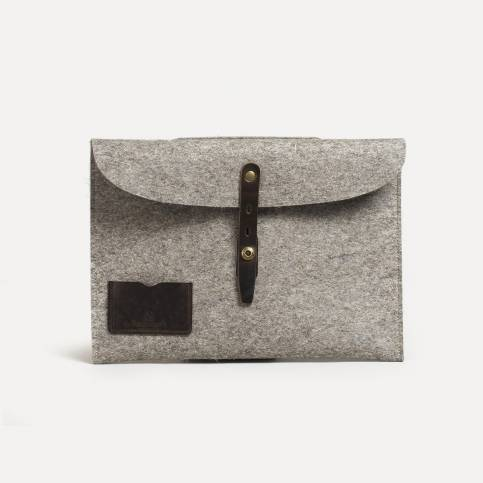 "Misha 13"" Laptop sleeve - Natural felt"