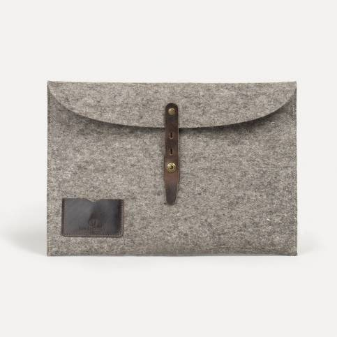 "Misha 15"" Laptop sleeve - Natural felt"