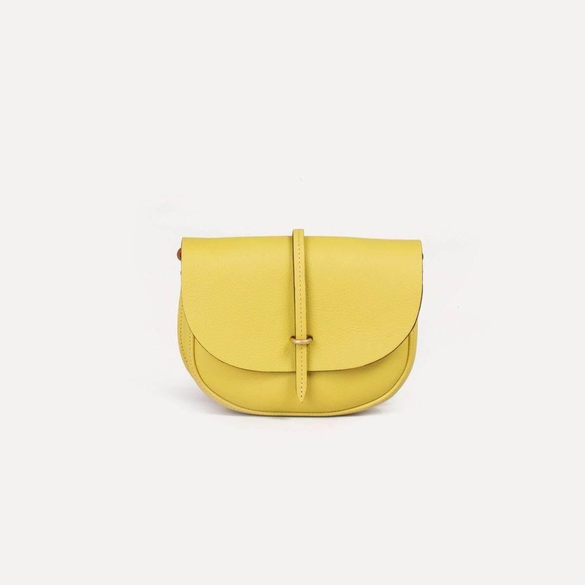 Java mini Postman bag - Yellow (image n°2)