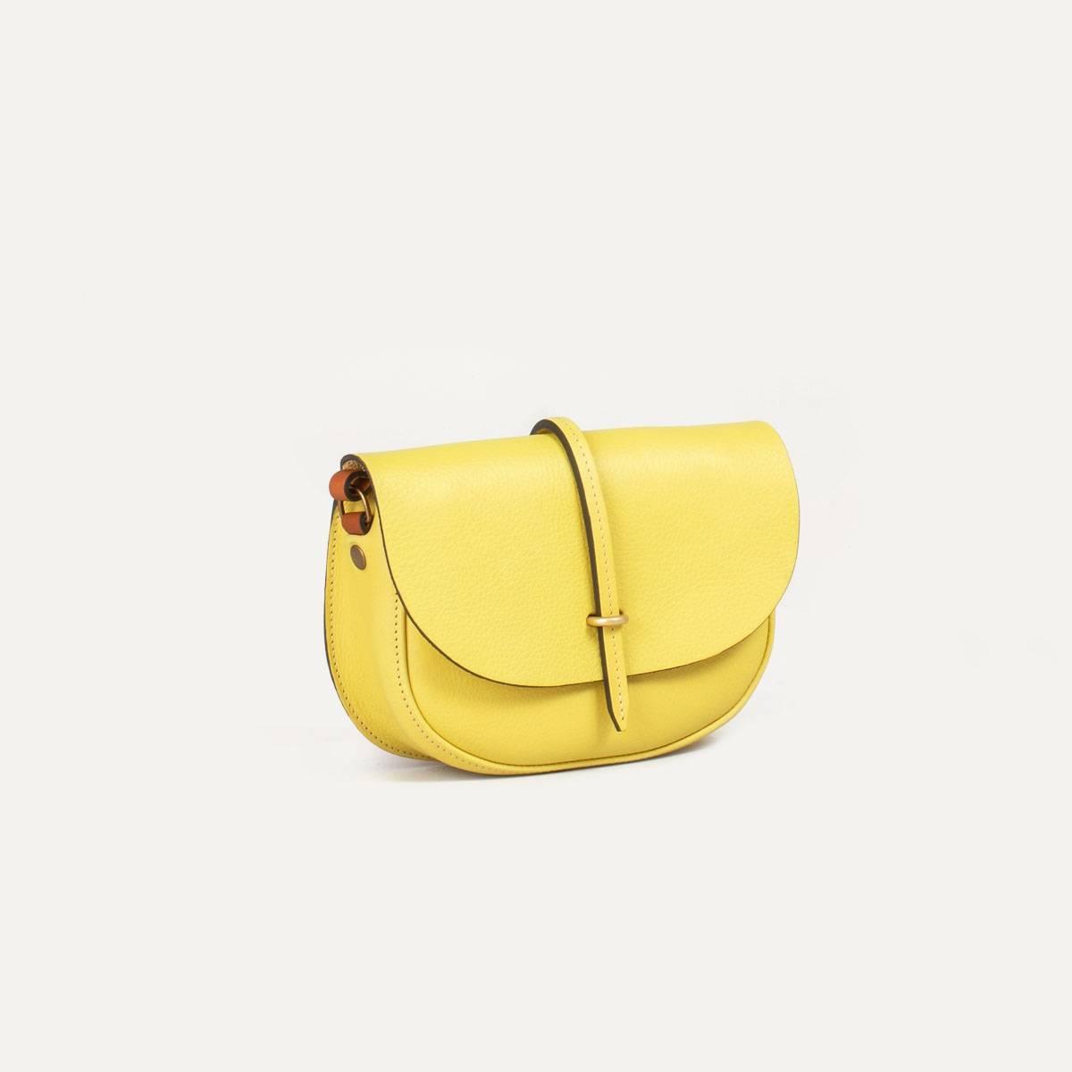 Java mini Postman bag - Yellow (image n°4)