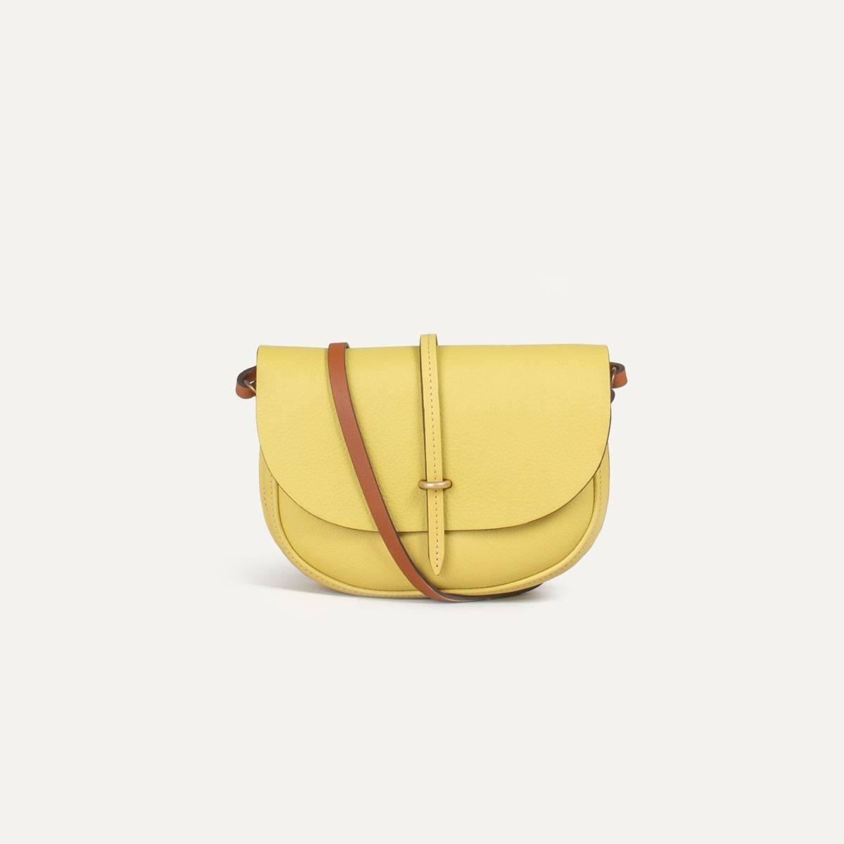 Java mini Postman bag - Yellow (image n°1)