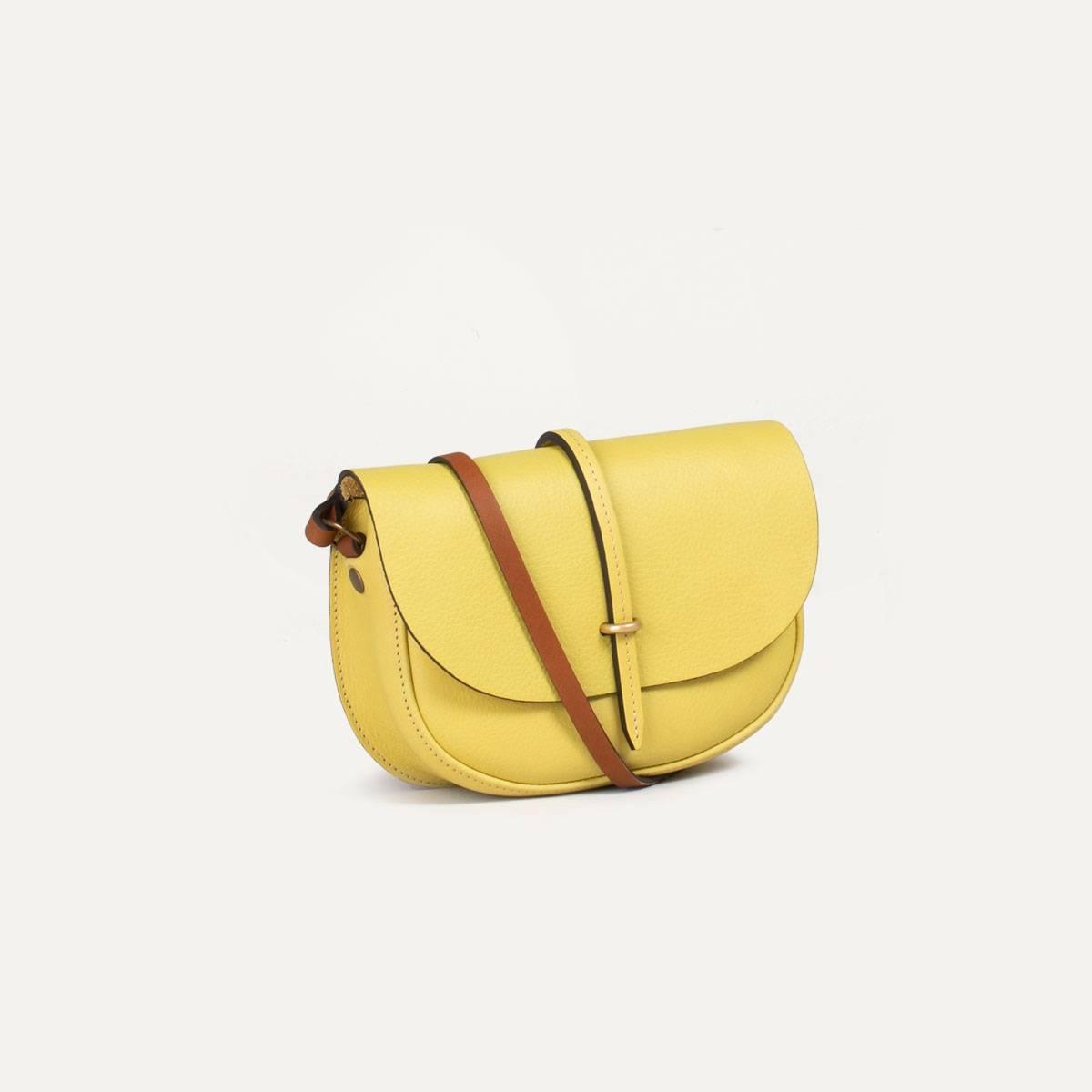 Java mini Postman bag - Yellow (image n°3)