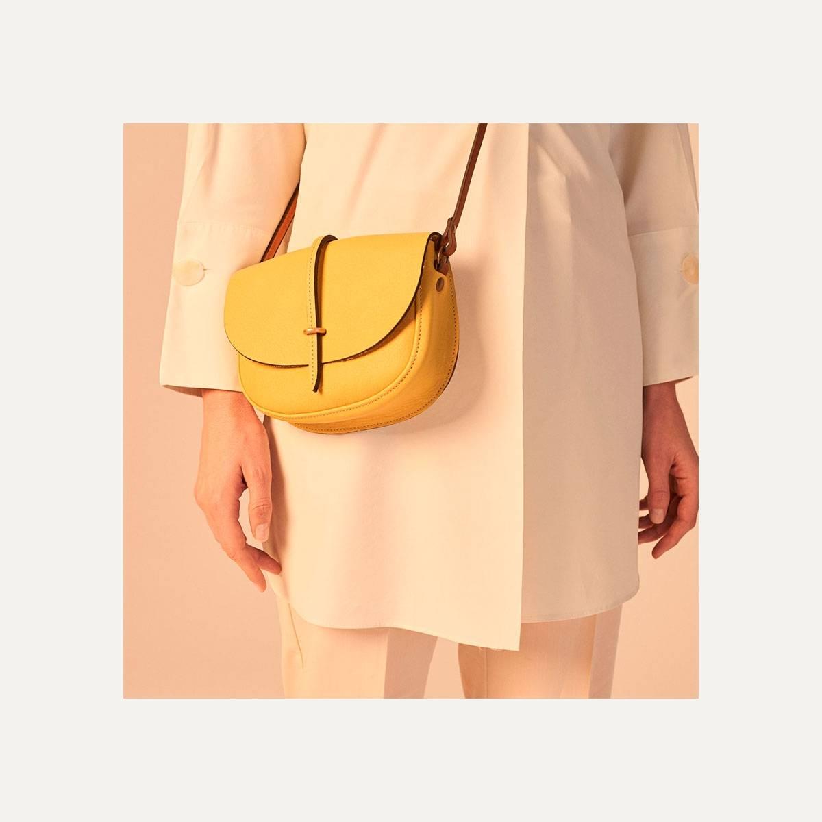 Java mini Postman bag - Yellow (image n°9)