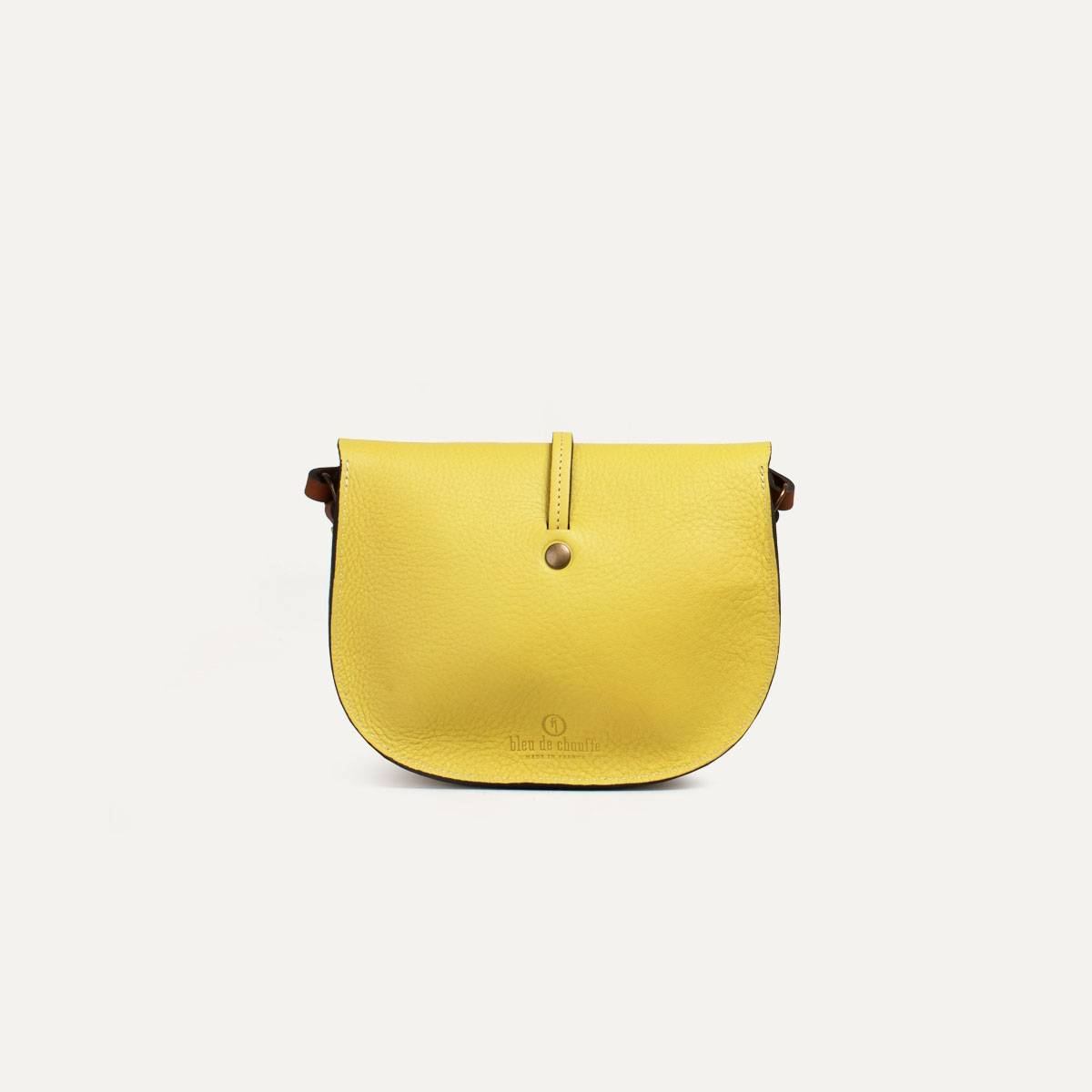 Java mini Postman bag - Yellow (image n°5)