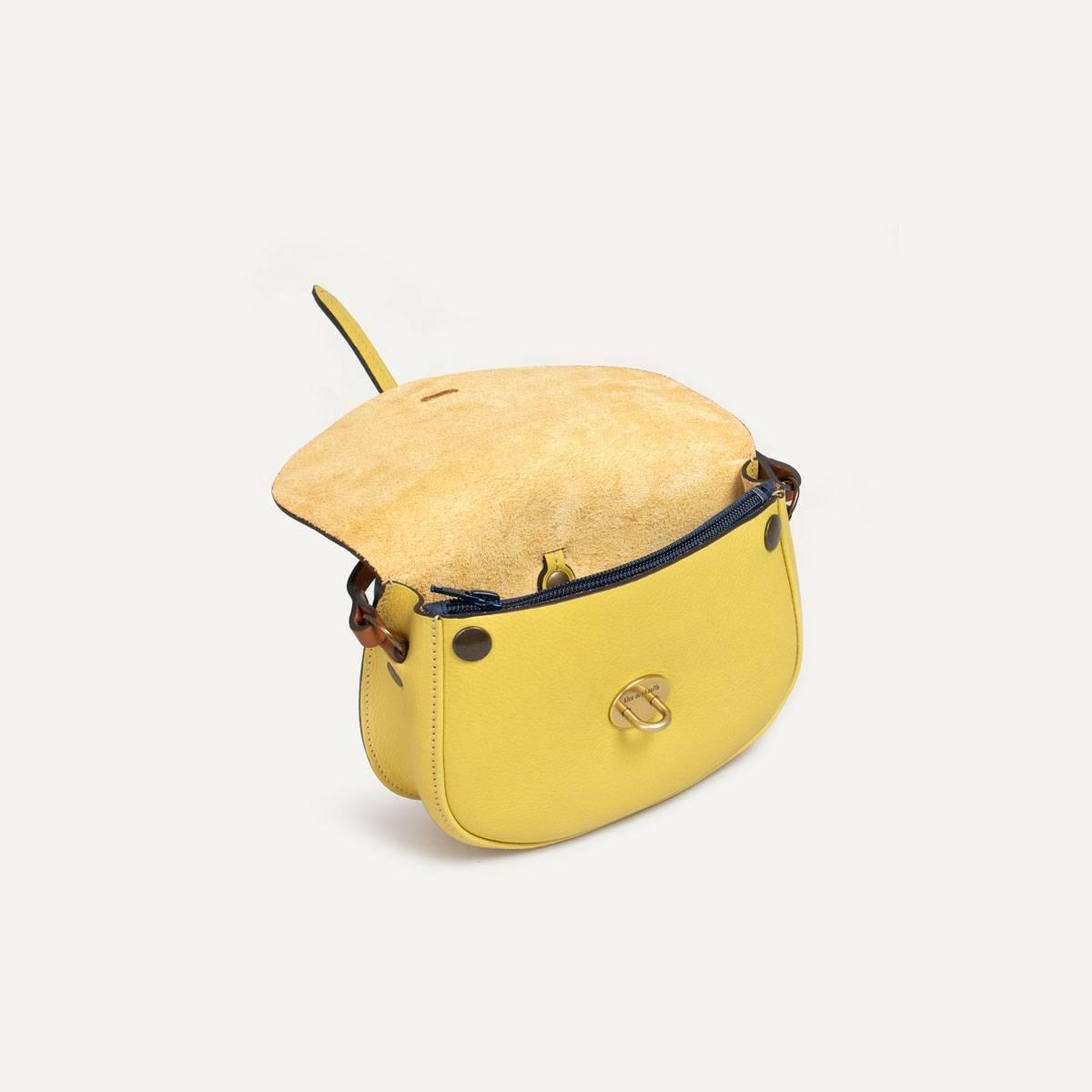 Java mini Postman bag - Yellow (image n°6)
