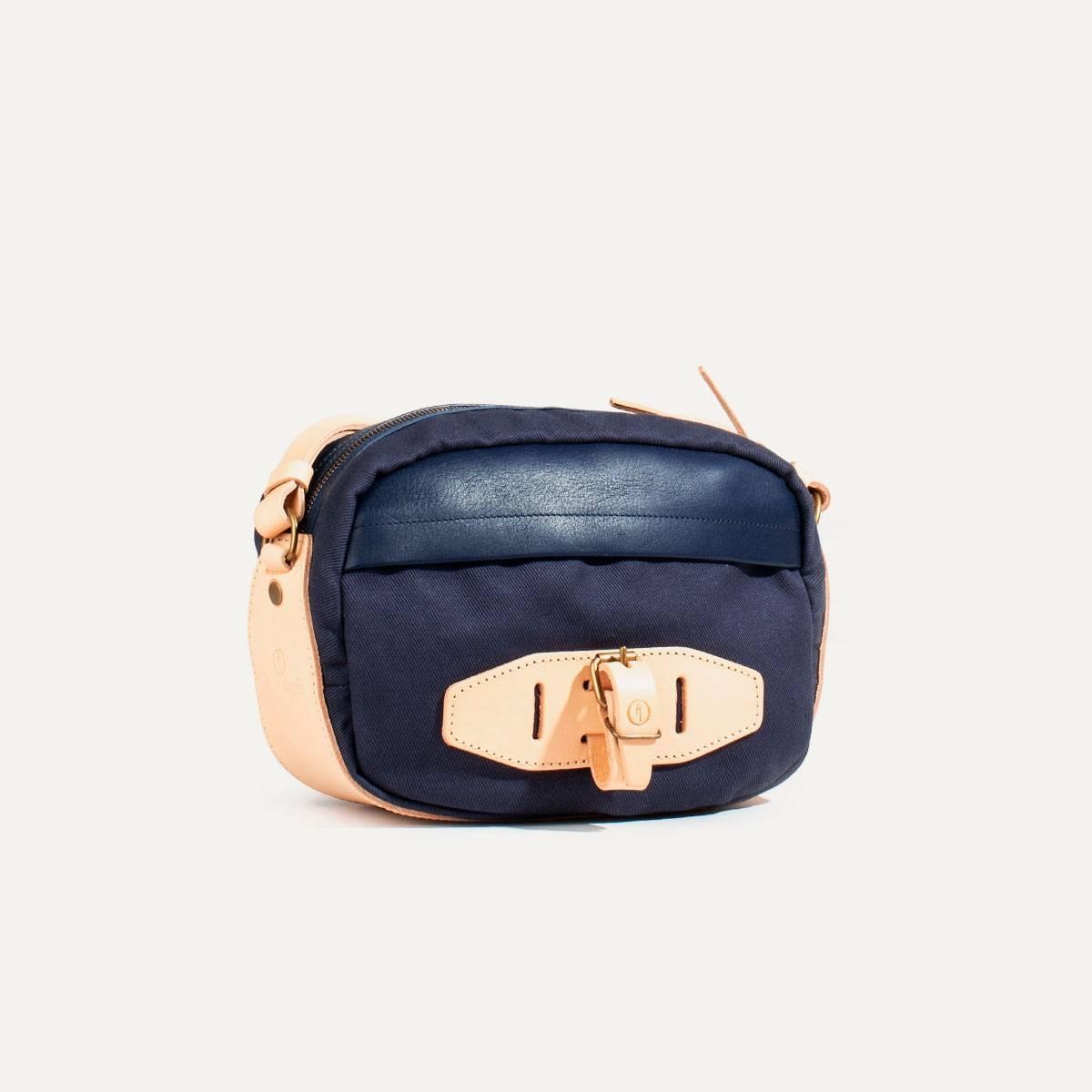 Honshu Belt bag - Navy blue/Natural (image n°3)