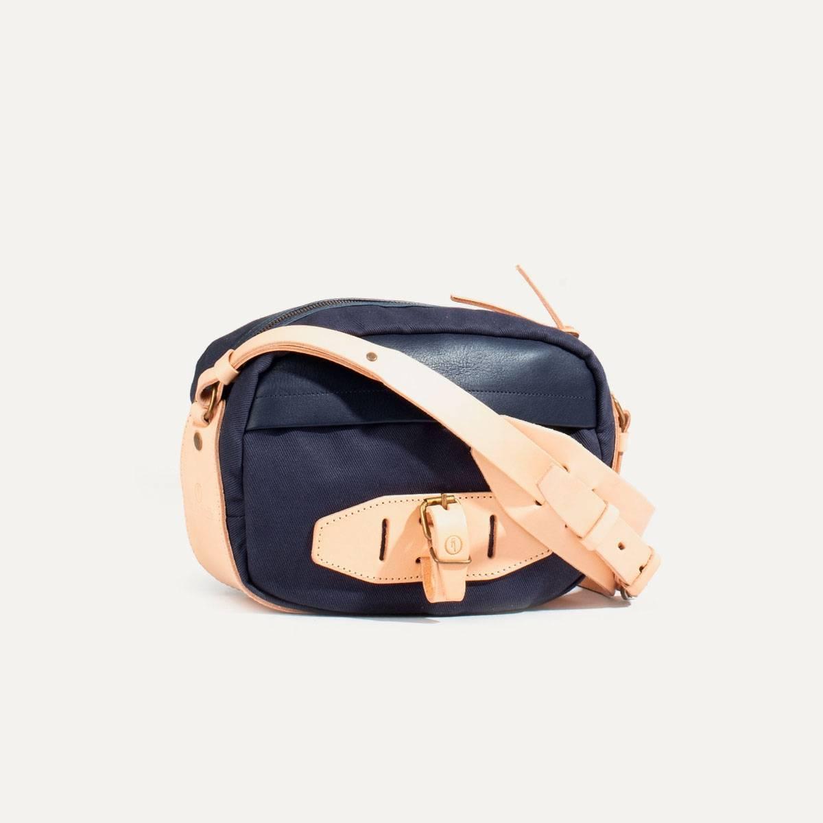 Honshu Belt bag - Navy blue/Natural (image n°2)
