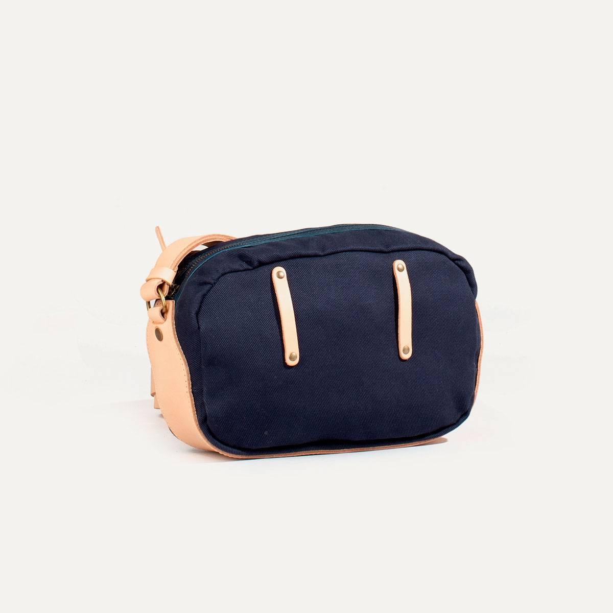 Honshu Belt bag - Navy blue/Natural (image n°4)