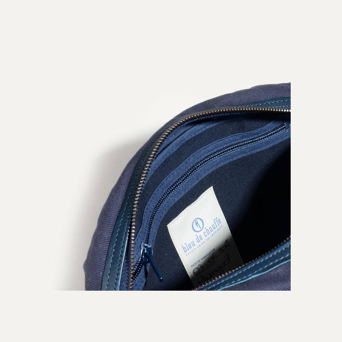 Honshu Belt bag - Navy blue/Natural (image n°5)