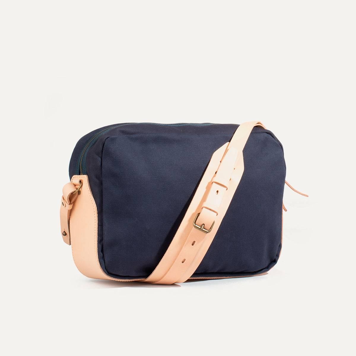 Uzu Belt bag - Navy blue / Natural (image n°3)