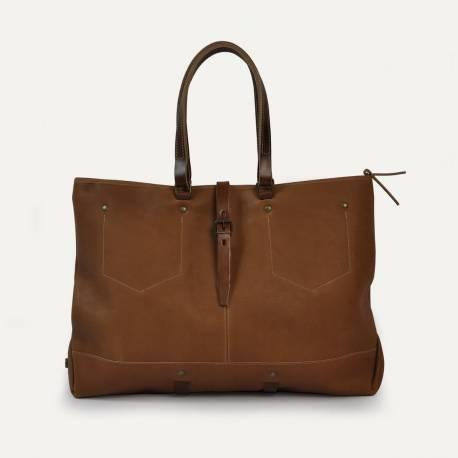 Garance shopping bag - Havane
