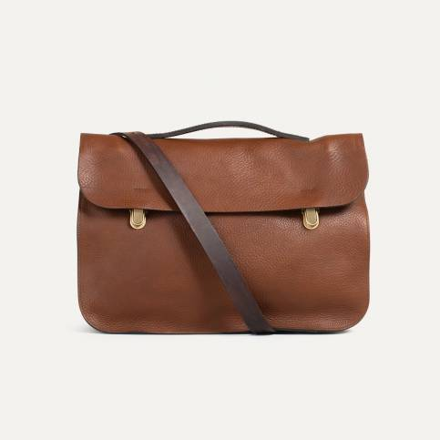 Leather Satchel Groucho - Cuba Libre