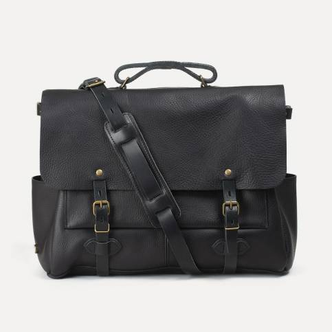 48h Irving Executive Postman bag - Black