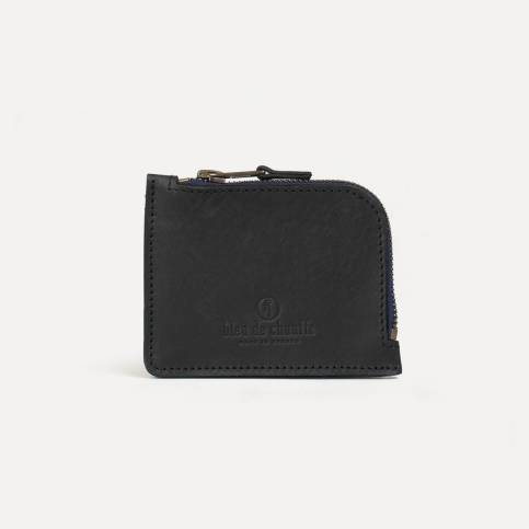 As zippered purse - Black