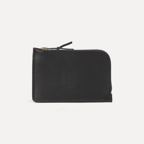 Pognon zipped purse - Black