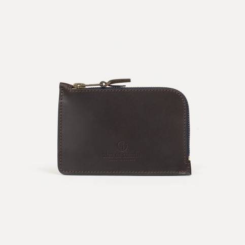 Pognon zipped purse - Expresso
