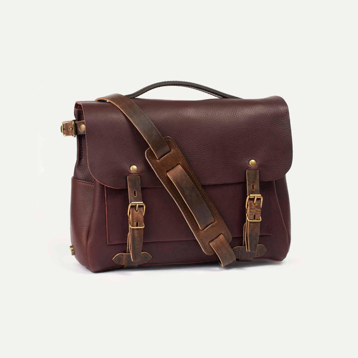 1c5fdc1334 Sac Postier Eclair I Sac Besace Messenger cuir Homme