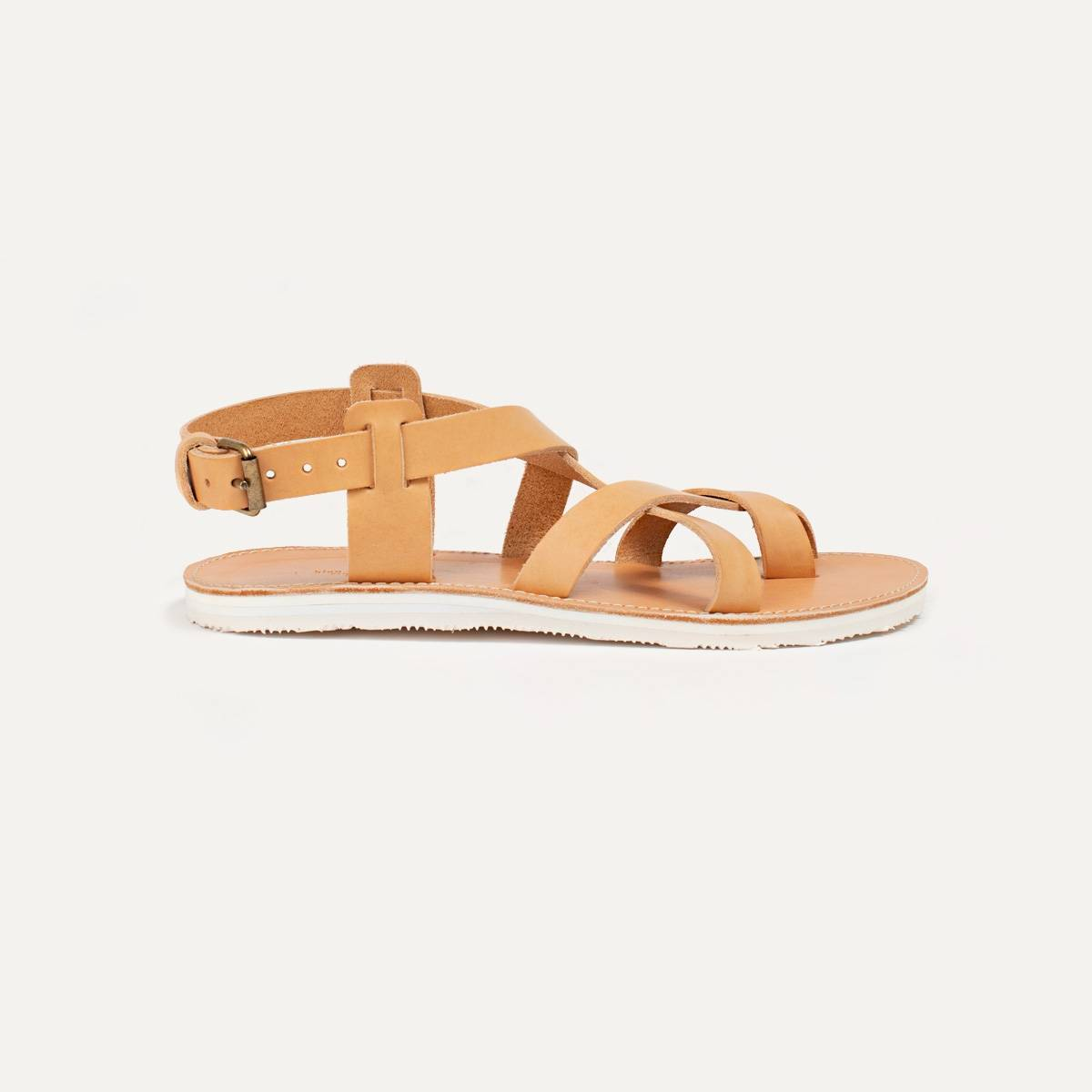 Lhassa leather sandals - Natural (image n°1)